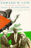 Peace and its Discontents: Gaza-Jericho, 1993-1995
