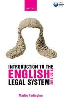 Introduction to the English legal system, 2015-2016