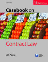 Casebook on contract law