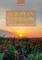 European Union Law (Oxford University Press, 2nd ed, 2017)