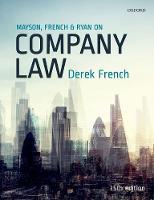 Mayson, French & Ryan on company law: 2018-2019 edition