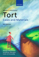 Hepple and Matthews' tort: cases and materials