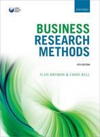 Business research methods / Alan Bryman & Emma Bell.