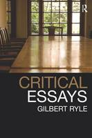 Collected papers: Volume 1: Critical essays