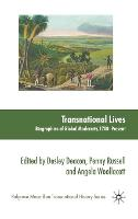 Transnational lives: biographies of global modernity, 1700-present