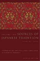 Sources of Japanese Tradition: Volume 2, 1600 to 2000