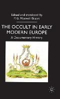 The occult in early modern Europe: a documentary history