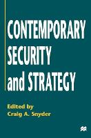 Chapter 12 - ' Terrorism and Insurgency' [in] Contemporary Security and Strategy