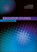 Education studies: an introduction