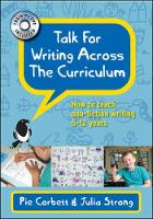Talk for writing' across the curriculum: how to teach non-fiction writing to 5-12-year-olds