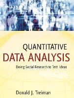 Quantitative data analysis: doing social research to test ideas