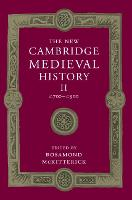 The New Cambridge medieval history: Vol. 2: c.700-c.900