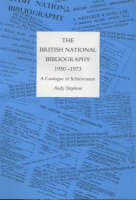 The history of the British National Bibliography, 1950-1973