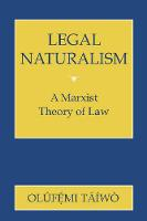 Legal naturalism: a Marxist theory of law