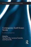 Contemporary South Korean society: a critical perspective
