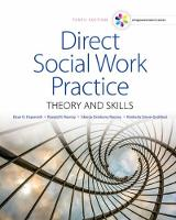 Direct social work practice : theory and skills.