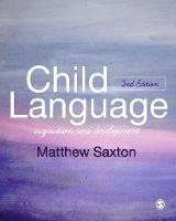 Child language: acquisition and development