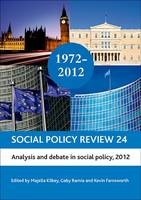 Social policy review: 24: Analysis and debate in social policy, 2012