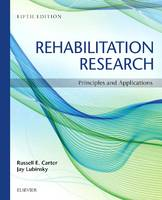 Rehabilitation research: principles and applications