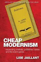 Cheap modernism: expanding markets, publishers' series and the avant-garde
