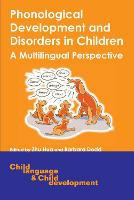 Phonological development and disorders in children: a multilingual perspective