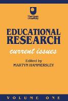 Educational Research: Current Issues