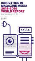 Innovation in magazine media, 2018-2019 world report