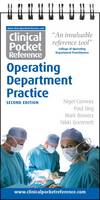 Clinical Pocket Reference: Operating Department Practice